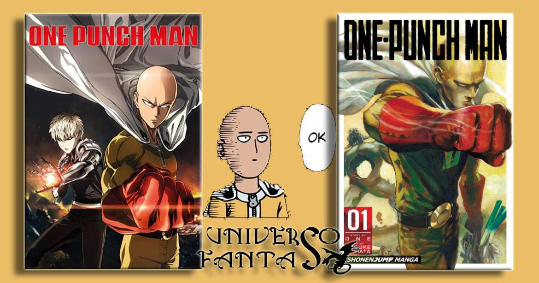 one punch man - copertina