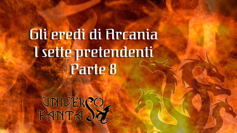 Eredi di Arcania 8 - copertina
